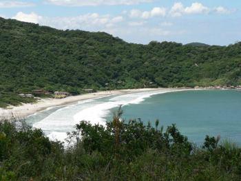 Naufragados beach in Florianópolis