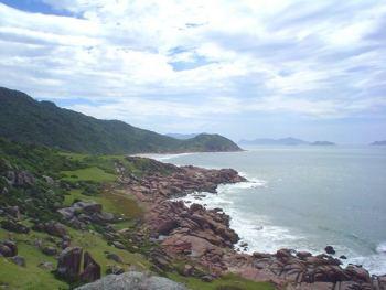 Vista hacia Pinheira