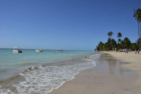 Playa en Maragogi