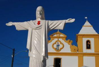 La histórica iglesia de Arraial d'Ajuda