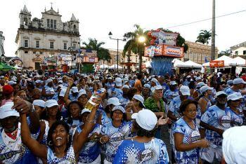 Carnaval en el Pelourinho - Salvador de Bahía