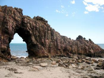 Pedra Furada en Jericoacoara