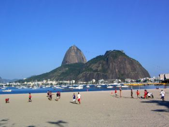Botafogo beach in Río de Janeiro