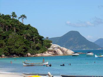 beach in Campeche island - Florianópolis
