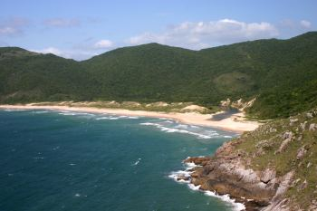 Lagoinha do Leste beach in Florianópolis