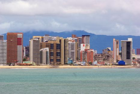 Iracema Beach in Fortaleza, Brazilian Northeast