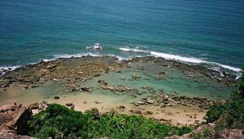 arrecifes y piscinas naturales - morro de São Paulo