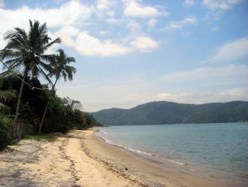 playa en ilha grande