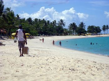 playa principal de Coroa Vermelha