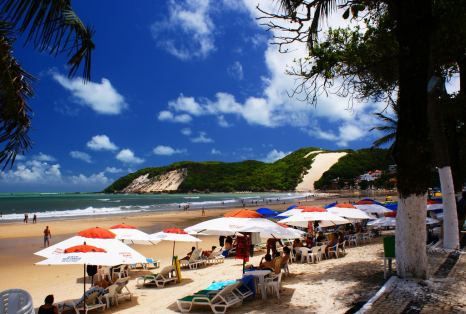 Playa Ponta Negra en Natal