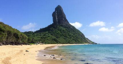 Morro do Pico And Beach